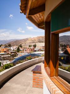 Best view over Mallasa from lovely house - La Paz