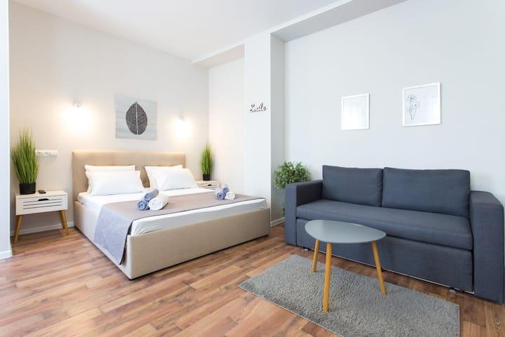 Новая квартира в центре - Гимназическая наб. 24А-5