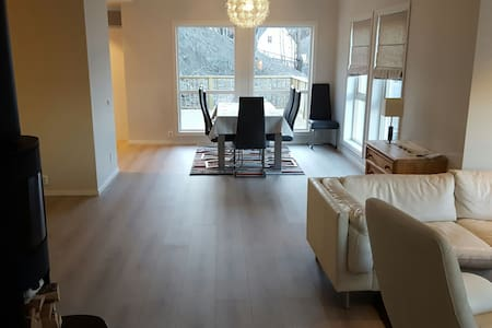 New modern villa - central location - Lillestrøm