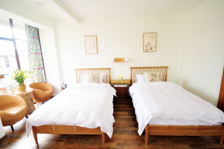 唯美庭院,闹中取静的花园式客栈 - Jinhua - โรงแรมบูทีค