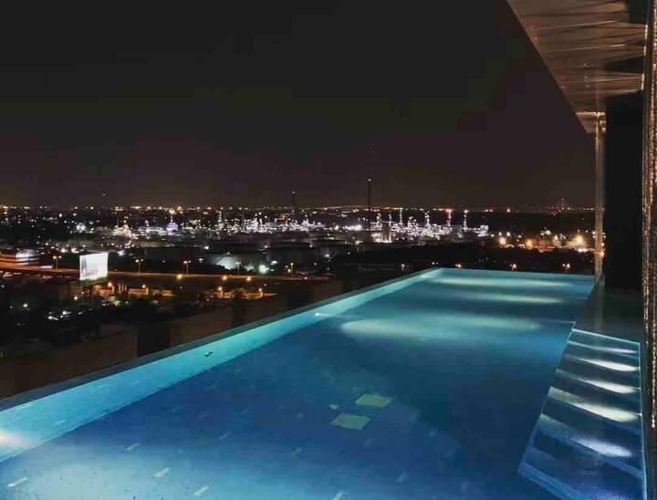 Sky view Sukhumvit bkk 曼谷素坤逸超高端高层独立公寓|无边泳池|紧邻空铁 21