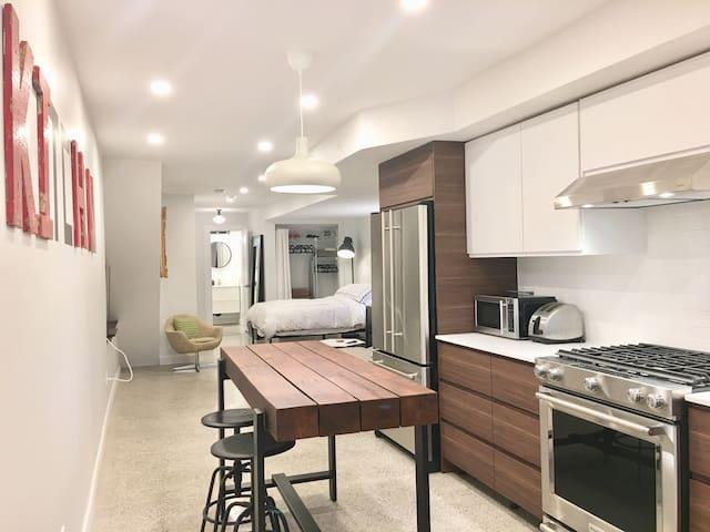 Beautiful & Large Studio Apartment!