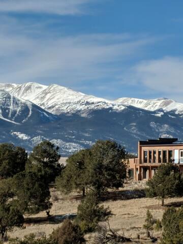 Stunning Adobe Home with  Collegiate Peaks Views