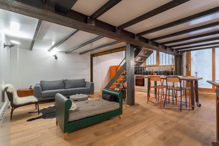 Appart Duplex Vieux Lyon avec Terrasse Privative.