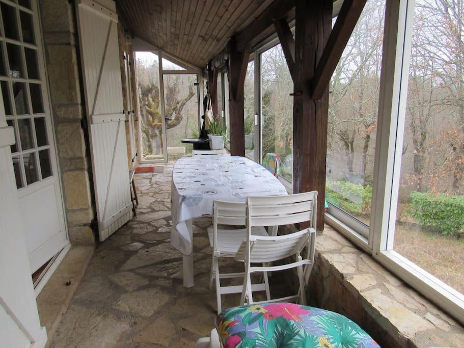 terrasse véranda 1er étage