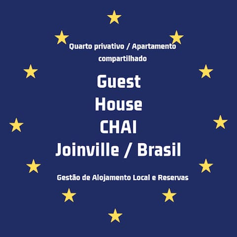 Quarto Aconchegante -Joinville 02-Via Gastronômica