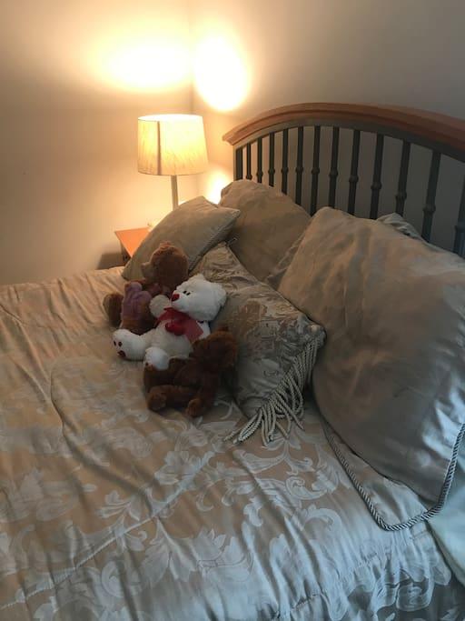 Guest sleeping area