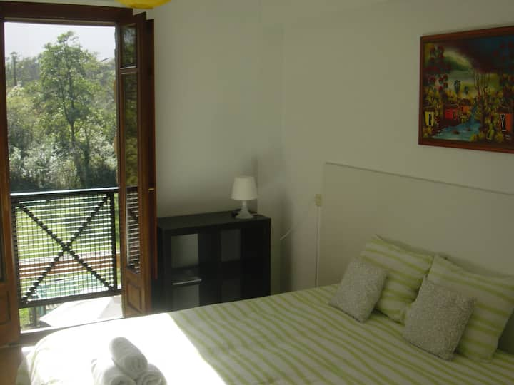 Great views and privacy. Llanes