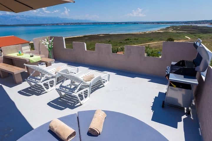 Vila Kula Apartment 6 With 1000000 $ TERRACE