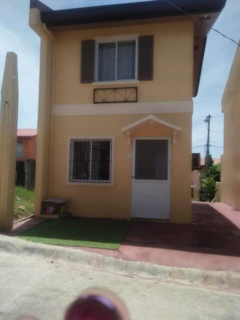 Cozy 2 Bedrooms 2 story house at Camella Homes Pagadian, City a few minutes drive to the airport