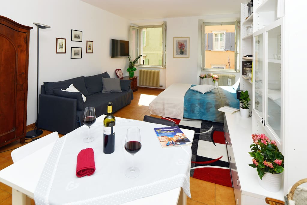 """We loved the appartement, it was very comfortable and clean. They also gave us a few good tips on what to do in Trento. We had a very good stay"" - Jasper"