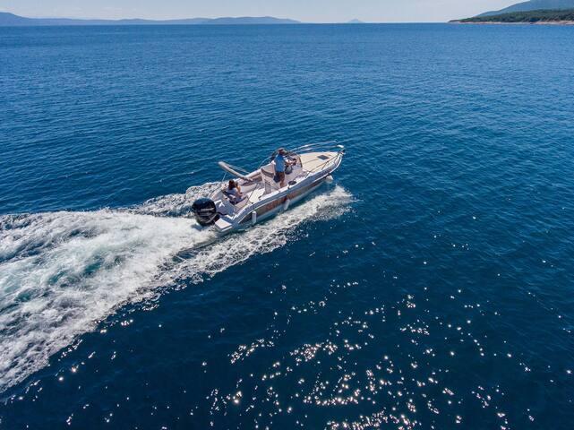 Bluline 23 Sundeck for rent - day cruiser charter