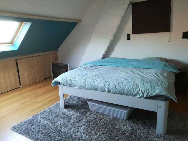 2 rooms in nice village close to Antwerp