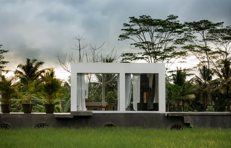 White Cubes One-Bedroom Villa A - Ubud - Casa