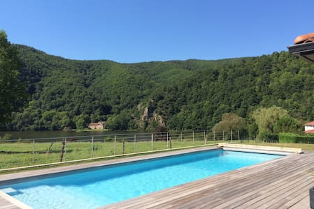 Villa au calme avec vue sur la Loire - Saint-Paul-en-Cornillon - 一軒家