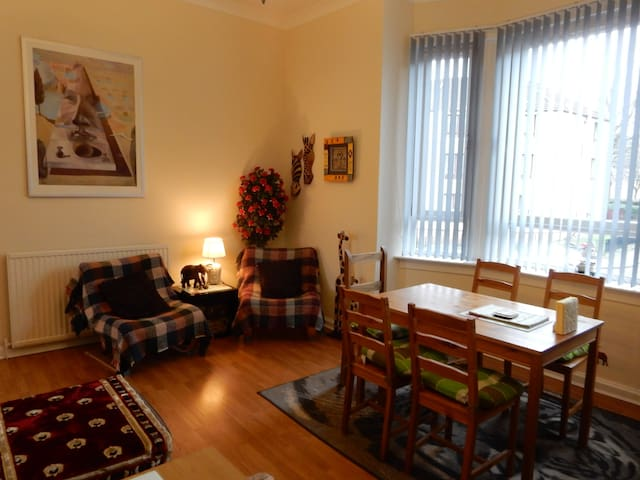 The Victorian apartment - Glasgow - Apartamento