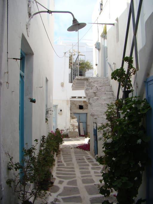 Traditional street