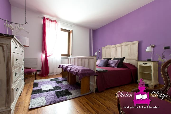 Lilla room, double room (or 1+1 beds) in B&B villa - Novaretto - Bed & Breakfast