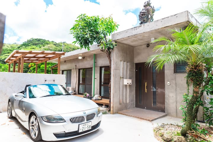 OKINAWA Jacuzzi Villa+Two bedroom & Two toilet