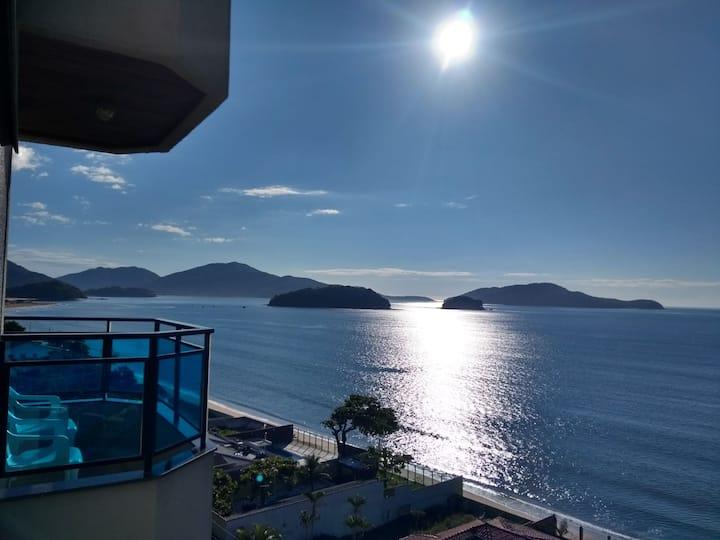 A melhor vista para o mar!