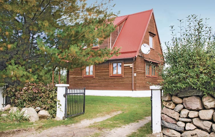 Holiday cottage with 3 bedrooms on 85m² in Mragowo