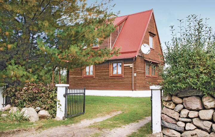 Awesome home in Mragowo with 3 Bedrooms