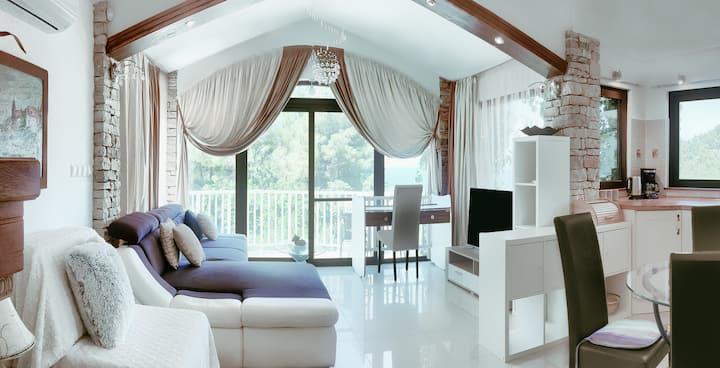 "Stone house Villa ""View""- luxury"