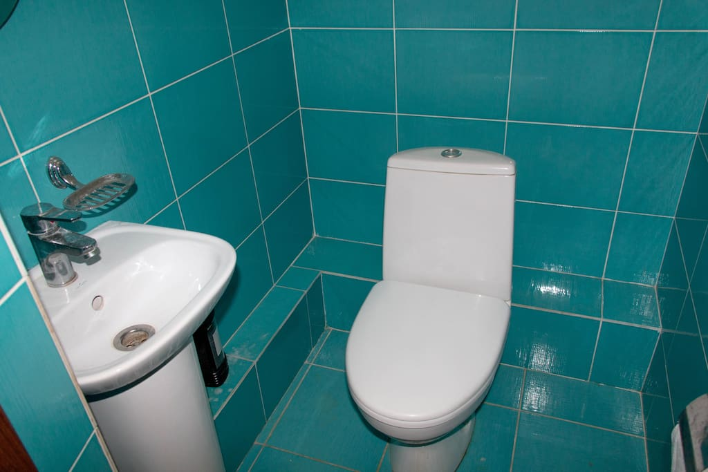 second toilet