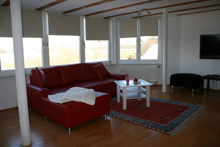 Panorama Apartment - Herdwangen-Schönach - 아파트