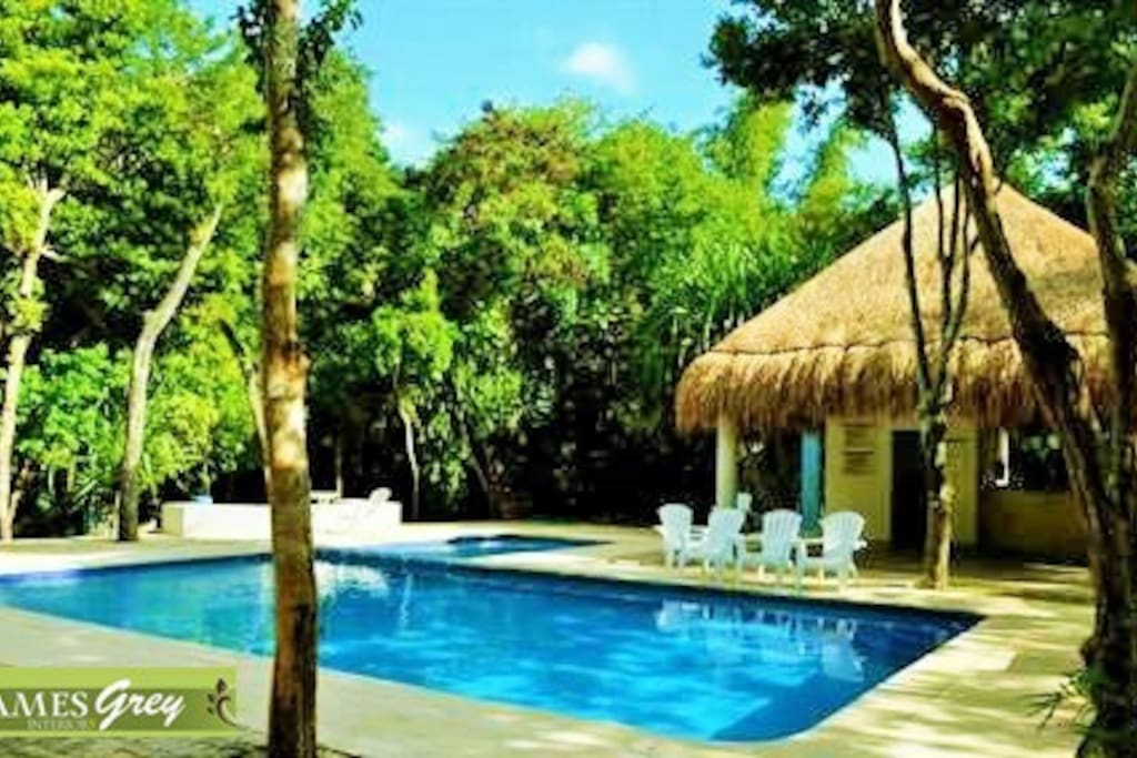 Special price treetop penthouse with pool suites for Actual studio muebles playa del carmen