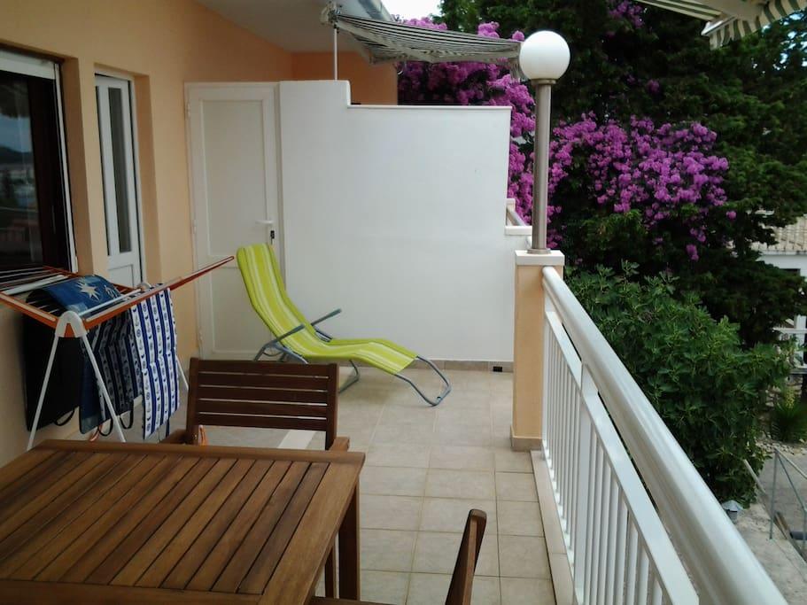 Balcony of apartment B - Miljenko Rogoznica