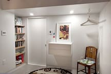 open closet / dressing area