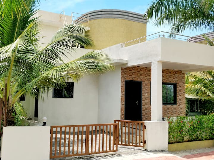 Budget cozy 2BHK villa with private pool