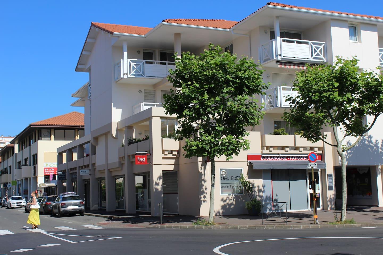 Vue générale de la résidence