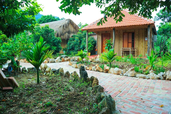 Quiet Jungle Bungalow at Lan homestay