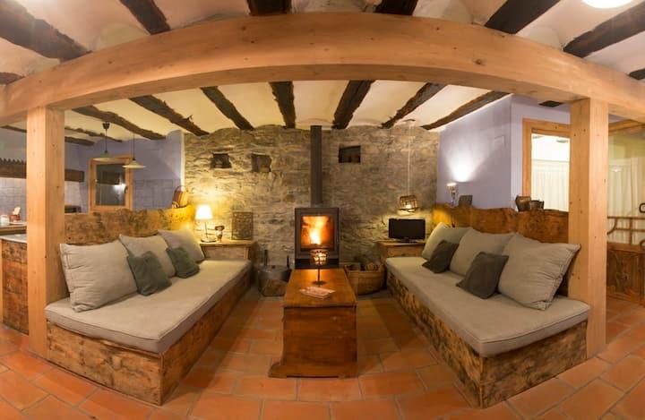 Casa señorial S.XVI Anciles-Benasque-free wifi x 2