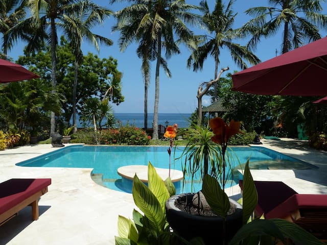 Beachfront Villa Damai North Bali incl. breakfast!