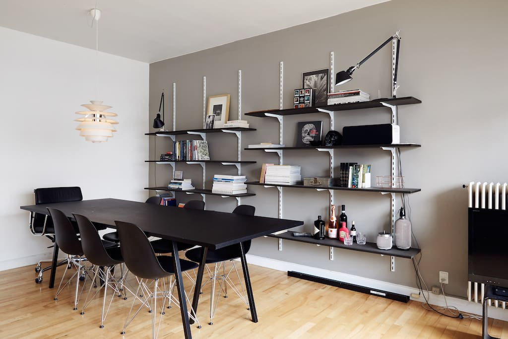 Dining table/work space