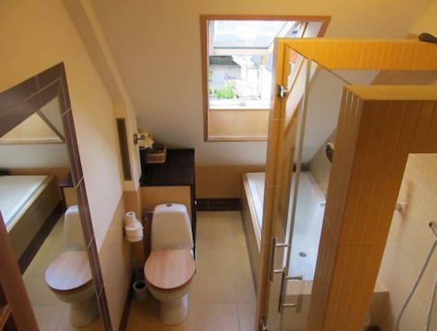 Łazienka wspólna z jedna osoba