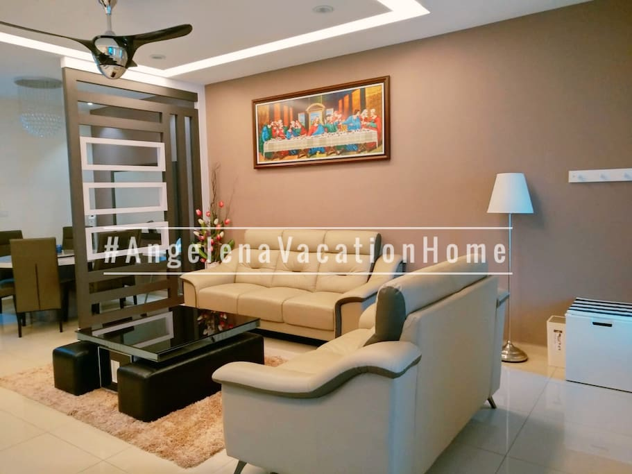Living Area • Air-conditioner • Free WIFI • Wireless 4K HD Android TV • Home Theatre • 2nd view