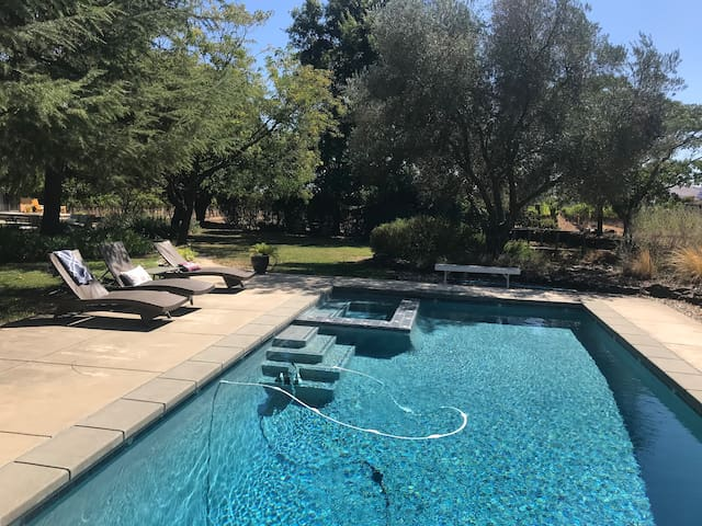 Sonoma Vineyard Retreat - like a park!