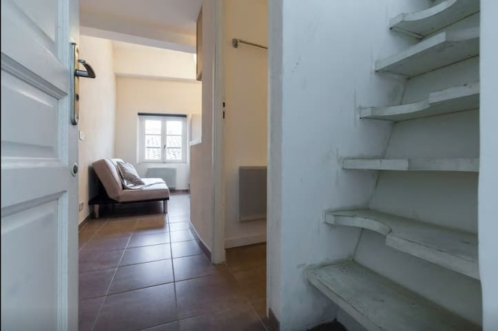 Small duplex in the heart of the old town