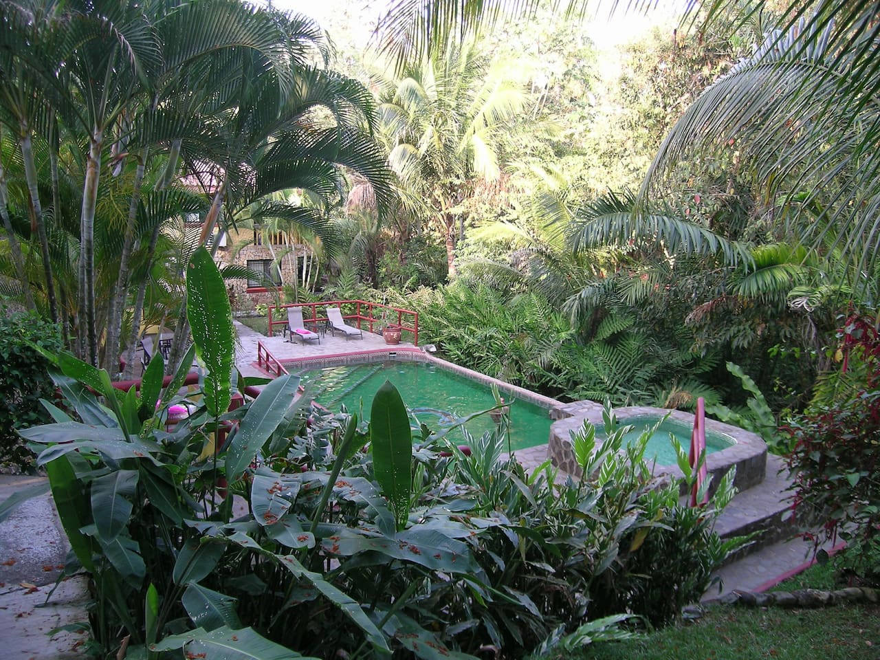 Guests' swimming pool