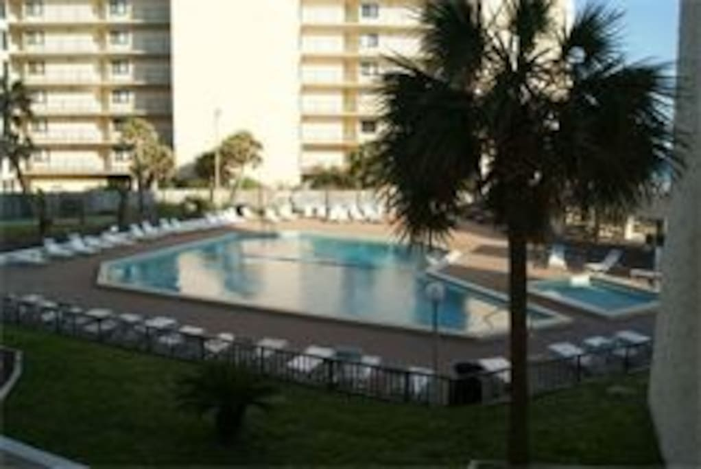 Top of the Gulf has an oversized pool and a baby pool.