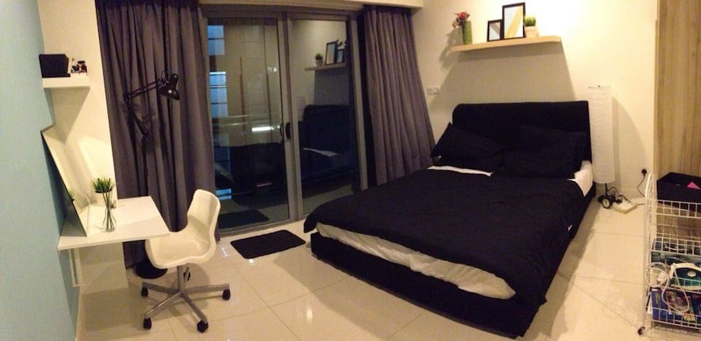An incredibly cute studio in the heart of KL - Kuala Lumpur - Apartament