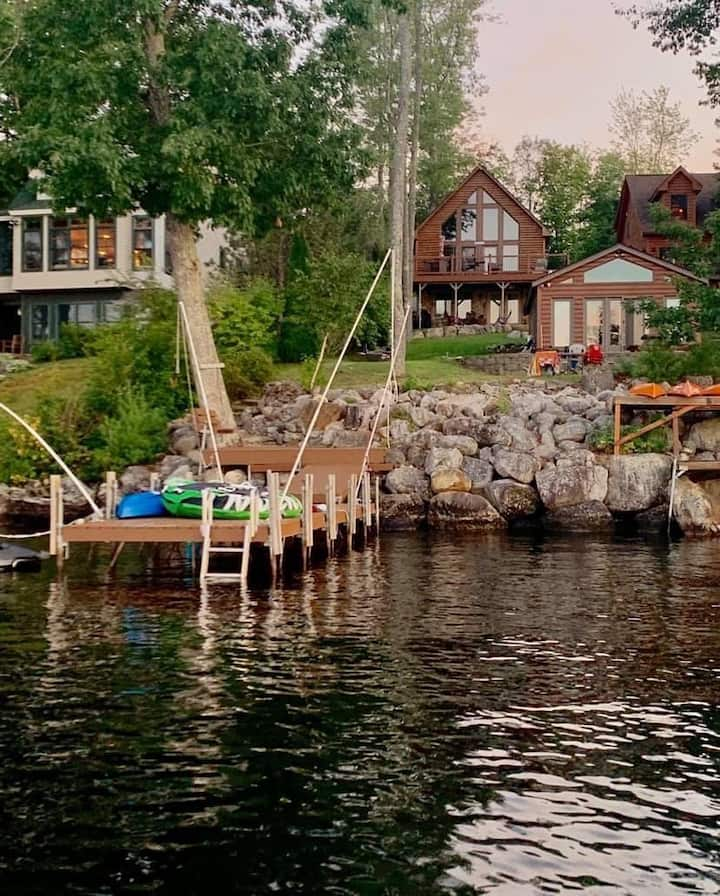 Long Lake Waterfront Cabin