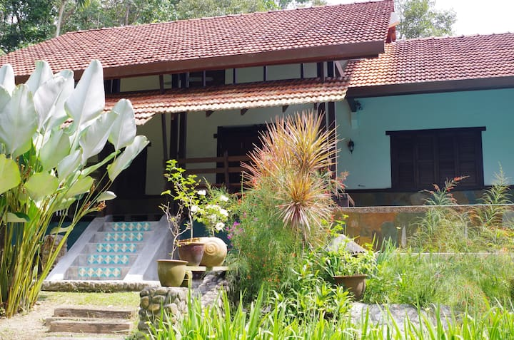 Aman Dusun Farm Retreat The Riverview House