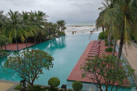 香水湾天海度假村。观山观海观泳池,蜜月首选