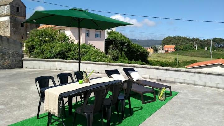 Chuco's house in Razo