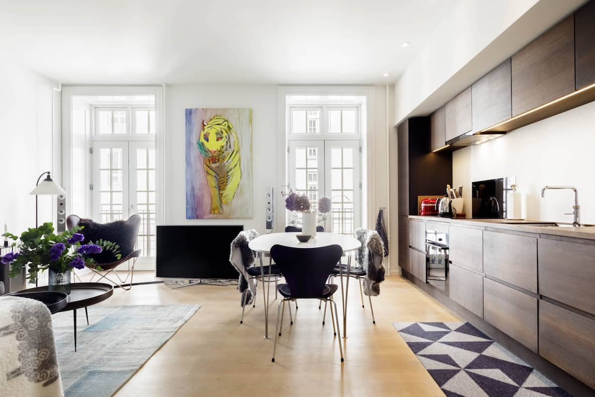 Luxurious, elegant and comfortable living in the heart of Copenhagen